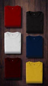 Elección de color en la ropa