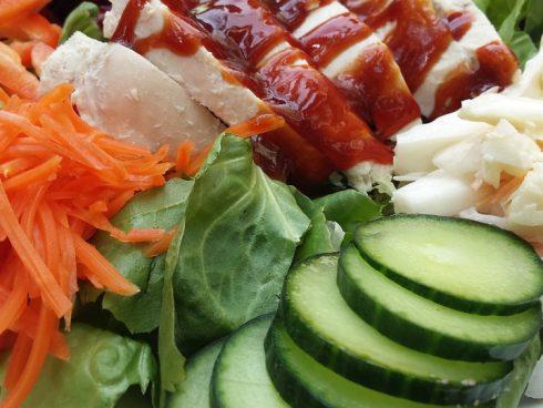 Alimentos sanos en nuestras mesas