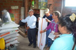 Víctor Rueda, cacaocultor de San Vicente de Chucurí.