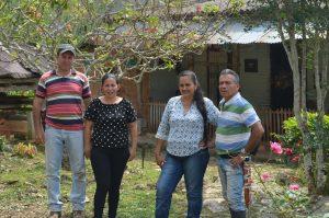 Familias cacaocultoras