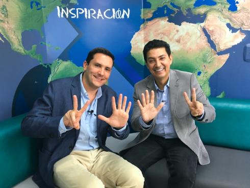 Con Alejandro Zapata, creador de Ciclo Siete