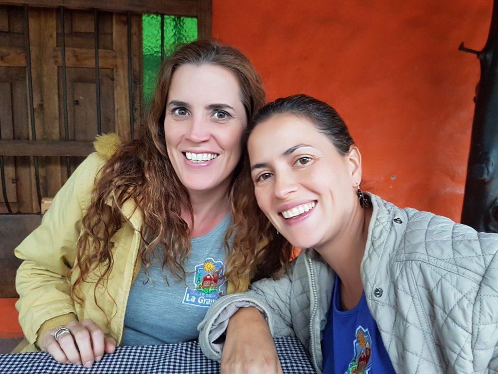 Esperanza y Maria Soledad Saldarriaga, de La Granja