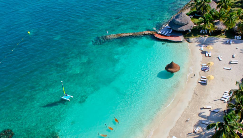 Vista aérea de Punta Faro