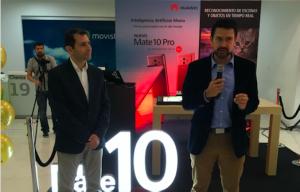 Lanzamiento del Mate 10 con Ricardo Triana y Juan Fernando Molina