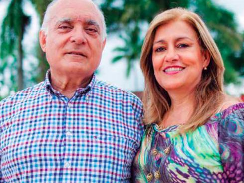 Alfredo Hoyos y Liliana Restrepo, fundadores de Frisby