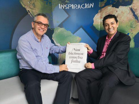 Con Fernando Ojalvo, de Vivir en El Poblado