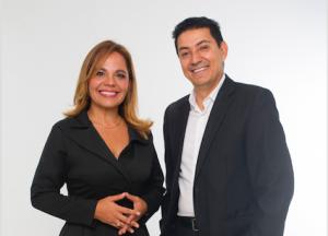 Con Paola Rueda López