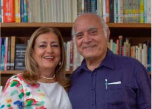 Liliana Arenas y Alfredo Hoyos, fundadores de Frisby