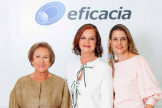 Elsa, Liliana y Marcela trabajan con Eficacia