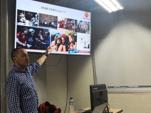 Juan David Ospina, profesor de la Facultad de Ingeniería de Unaula