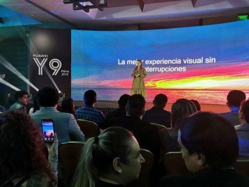 El evento de Huawei fue en el hotel JW Marriot