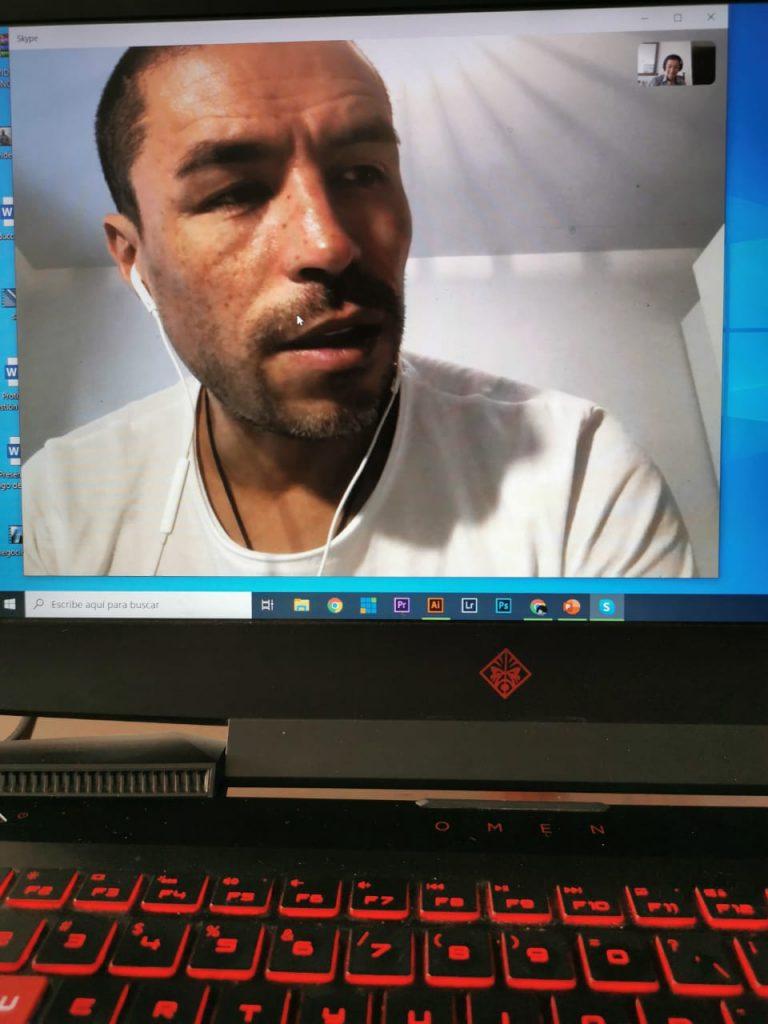 Entrevista por teleconferencia con Iván Ramiro Córdoba, ahora empresario
