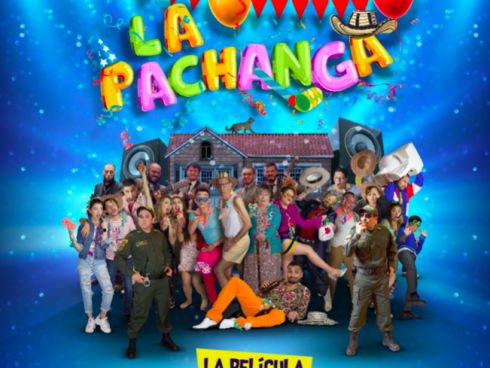 Con esta imagen se promociona la película La Pachanga