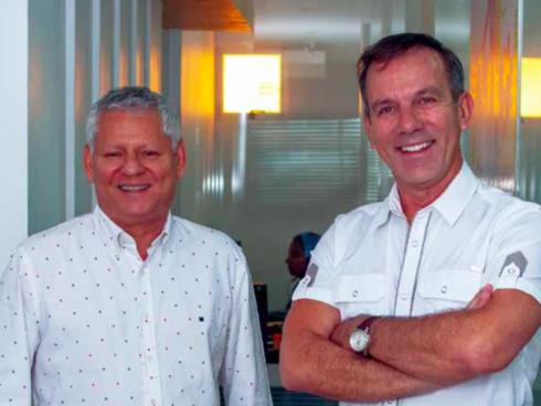 Pablo Gómez y Mario Maya fundaron el Sandwich Qbano