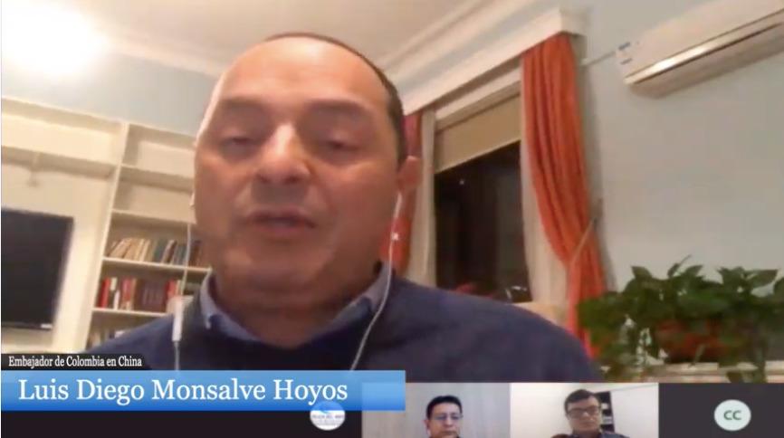 Luis Diego Monsalve nos habló desde China