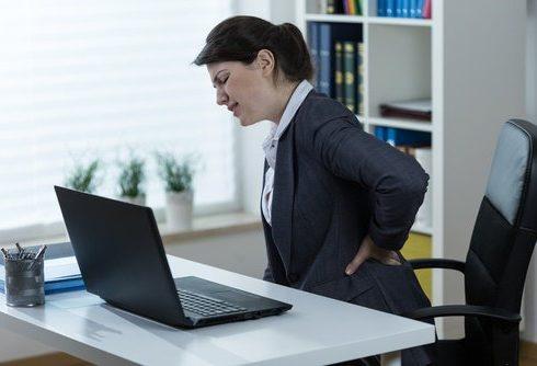 Cuidado con el dolor de espalda.