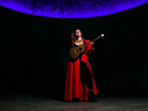 Homenaje musical al planeta. Foto de Pablo Paez