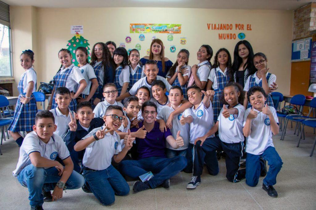 Juan David Aristizábal es un apasionado de la educación.