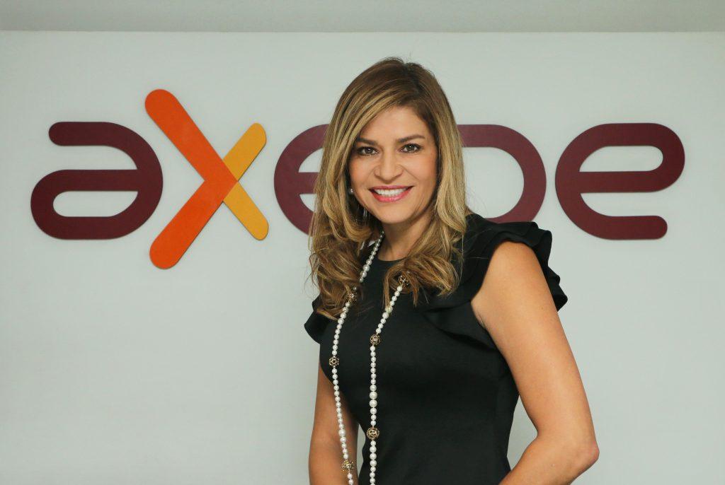 Ella es Liliana Carreño, la presidenta de Axede