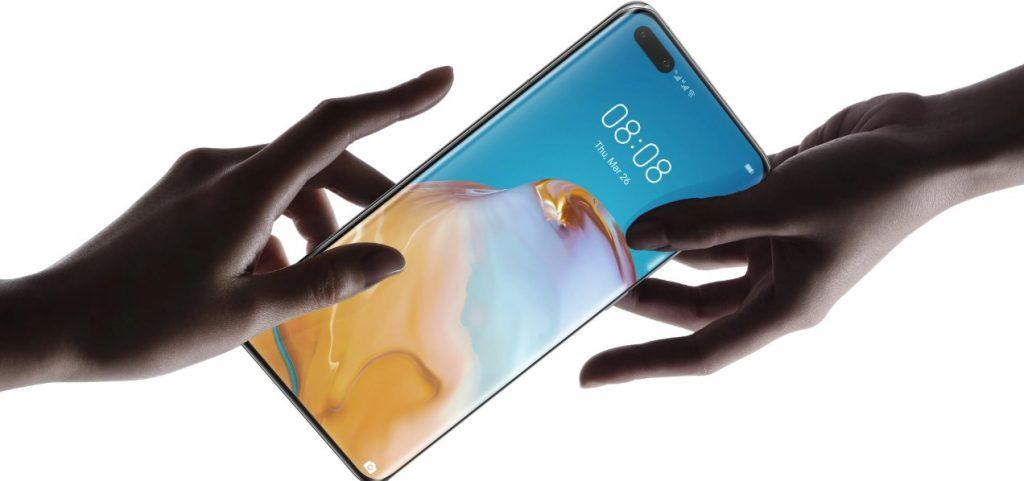Este es el nuevo celular de la firma china Huawei, el P40 Pro