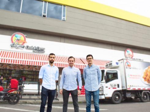Sebastian Florez, Jefe de mercadeo; Rafael Escobar, Gerente Comercial y Nicolás Rojas, fundador de Imagine Apps
