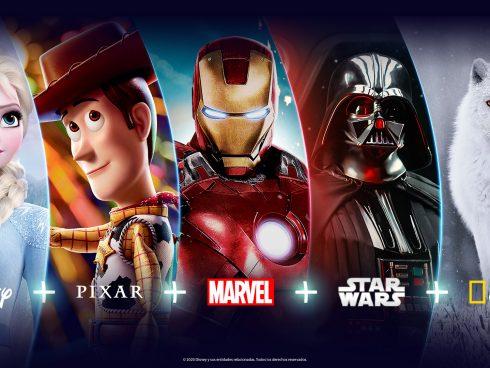 Disney+ agrupa contenido de cinco marcas