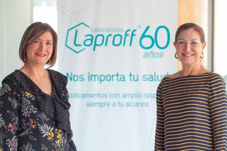 Margarita Jiménez y Laura Cristina Peñalosa siguen al frente de Laproff