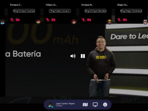 El lanzamiento de los nuevos equipos Realme fue de forma virtual