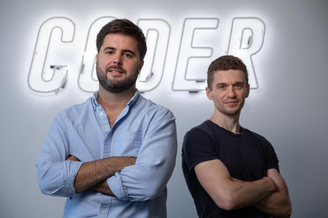 Christian Patiño, CEO de Coderhouse, y Nahuel Lema, Co-Founder; CTO de Coderhouse