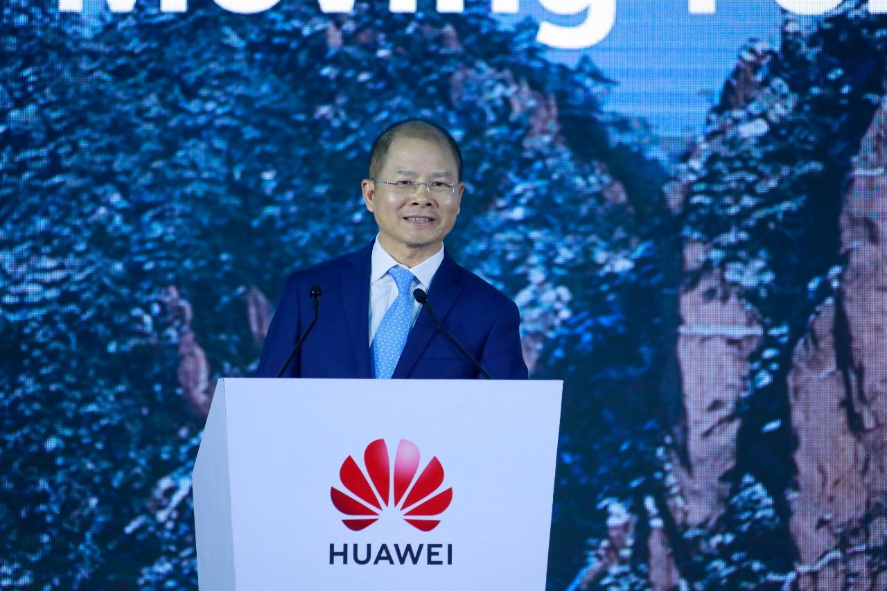 Eric Xu, presidente rotatorio de Huawei