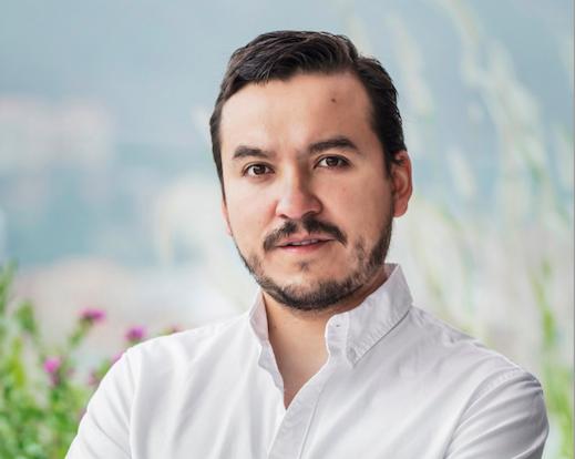 José Guillermo Calderón, CEO de RobinFood