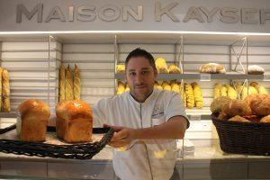 Emmanuel Ribeirinha, chef pastelero de Maison Kayser, en Bogotá.