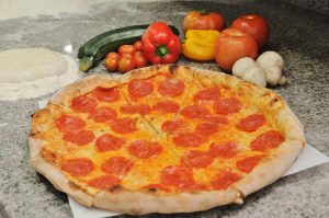 La pizza Pepperoni, una de las más populares de La Vera Pizza. Foto: Archivo particular.