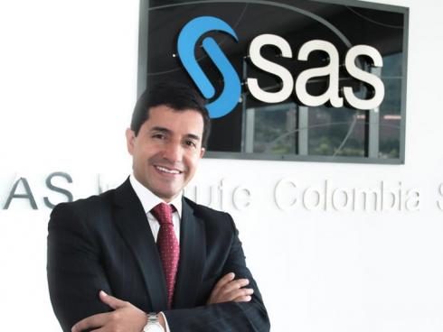 Juan Carlos Puentes, country manager SAS (Foto SAS)