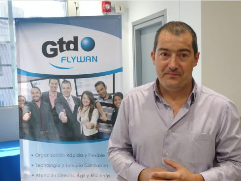 Tomás Gil Toro, gerente general GTD Flywan Colombia (Foto: Orlando Gómez).