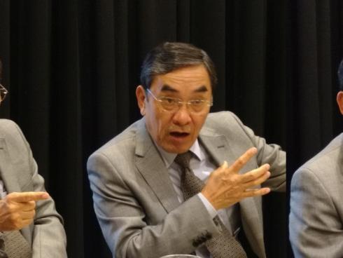 Hiroyuki Doi, Vicepresidente Comercial de Furukawa (Foto: Orlando Gómez Camacho).