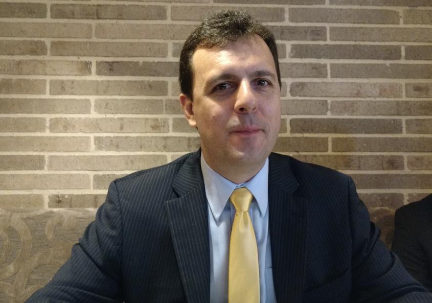 Hernán Roth, Director de Ventas y Servicios Técnicos para Latinoamérica de Veritas Technologies (Foto: Orlando Gómez Camacho)