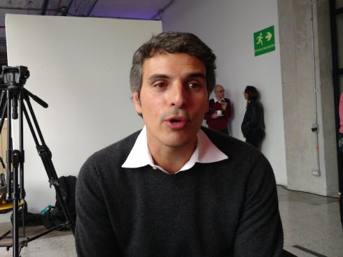 Nino Castellotti, Gerente General Latinoamérica Norte MBG de Lenovo (Foto: Orlando Gómez Camacho).
