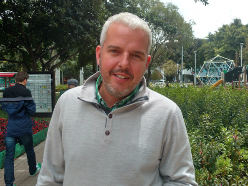 Erick Bertolotto, Director Comercial Latinoamérica de Best Mobile. (Foto Orlando Gomez Camacho).