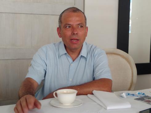 Ricardo Rodríguez Vásquez, Director General Colombia de HPE. (Foto Orlando Gomez Camacho).
