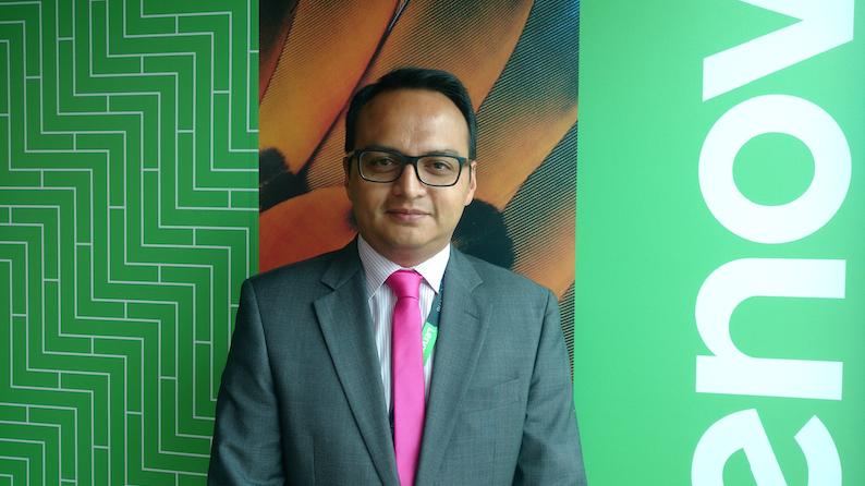 Jonathan Castro, Brand Manager Data Center Business Group de Lenovo.