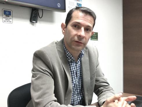 Ricardo Triana, Gerente de Producto de la División de Móviles de Huawei (Foto Orlando Gomez).