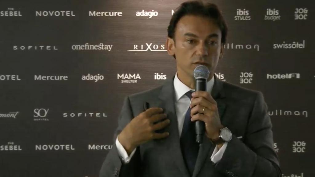 Patrick Mendes, CEO de AccorHotels Suramérica.