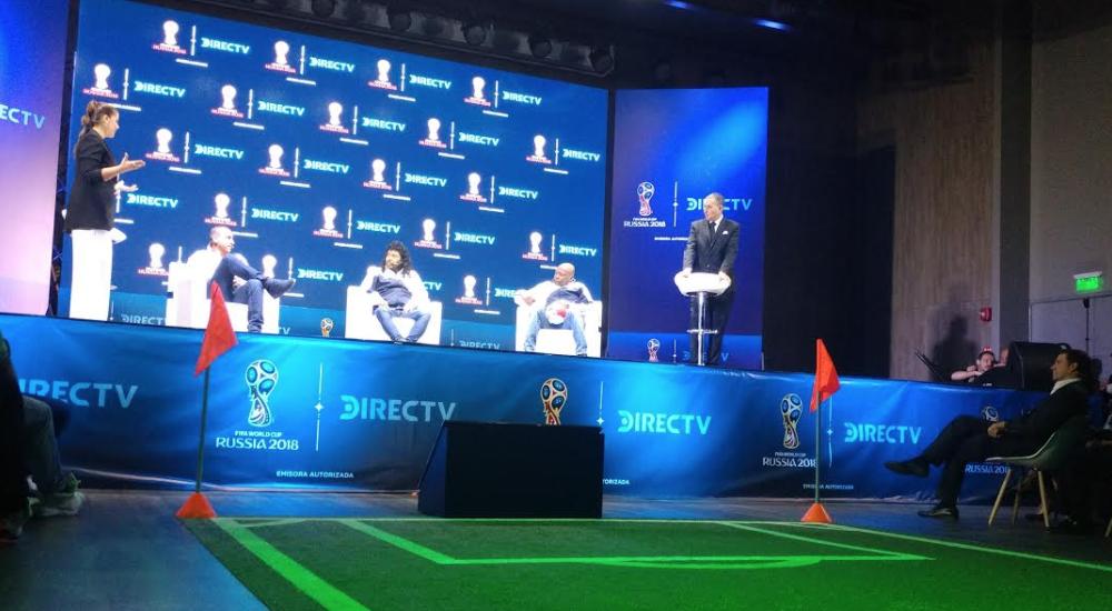 Directv transmitirá en 4K los 64 partidos del Mundial de Rusia.