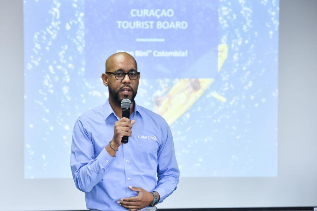 Andre Rojen, Marketing Manager para Suramérica de la Oficina de Turismo de Curazao.