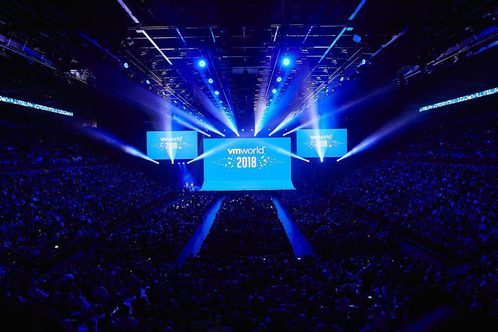 VMware VMWorld 2018 en Las Vegas, Nevada.