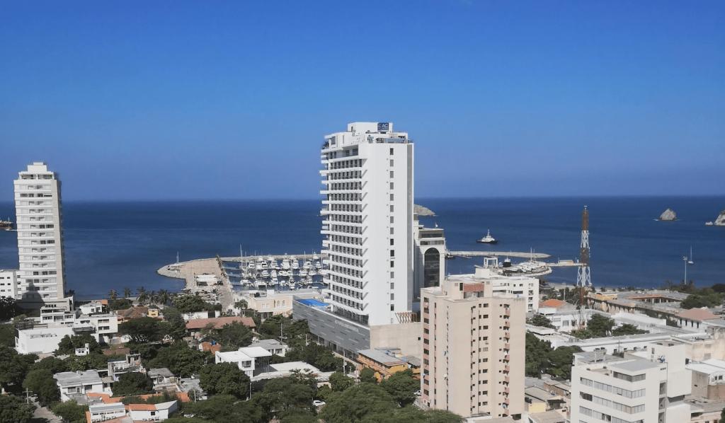 Bahía de Santa Marta (Foto Orlando Gómez).