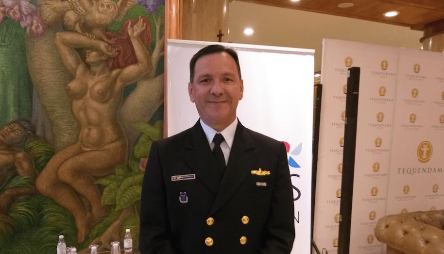 Contraalmirante Jorge Iván Gómez, Gerente General Hotel Tequendama