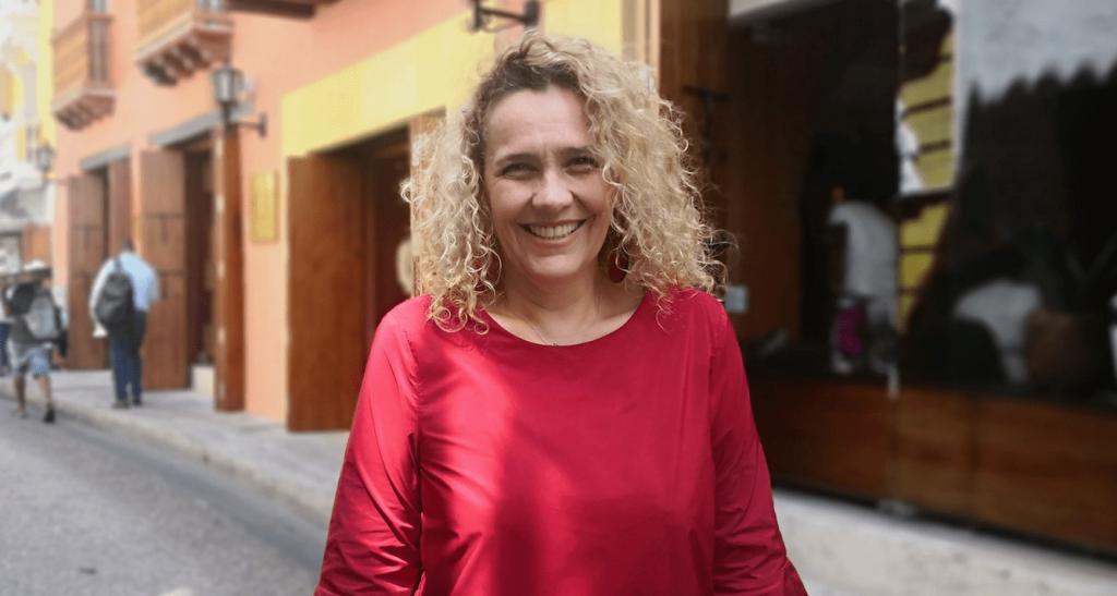 Rossana Chávez, Gerente General, Santa Catalina Hotel Cartagena (Foto Orlando Gómez Camacho).