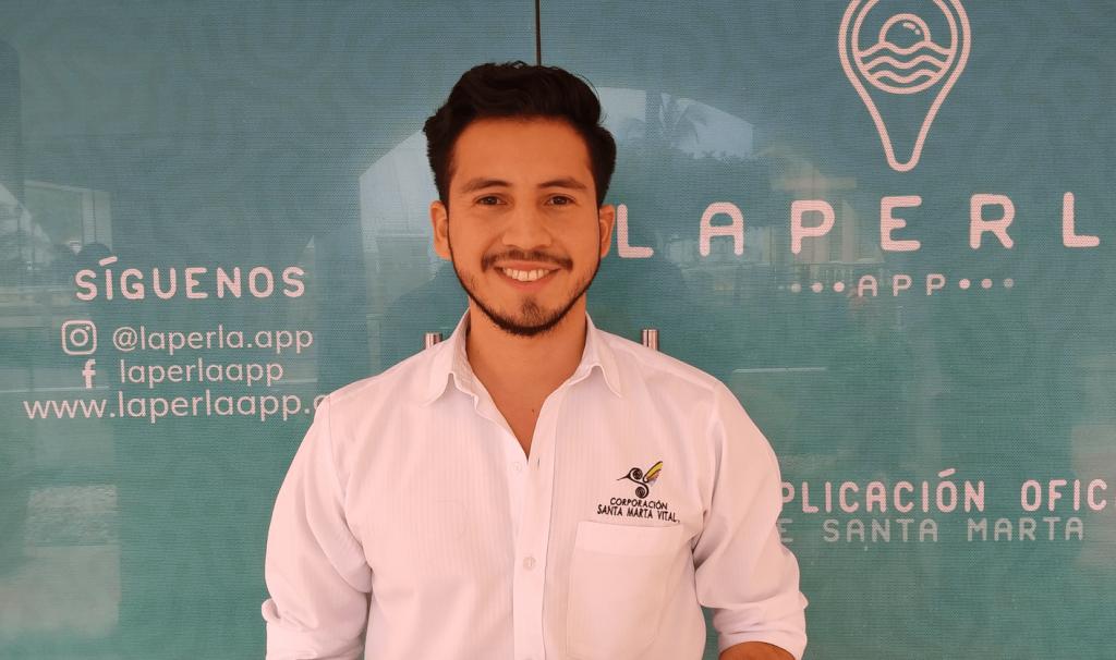 Erick Navarro, Director La Perla App (Foto Orlando Gómez).